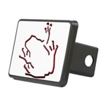 Blakk Frogg -- 10x10 Rectangular Hitch Cover
