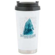 Howard Roark Architect Ceramic Travel Mug