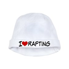 I Heart Rafting baby hat