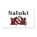 Saluki Mom Car Magnet 20 x 12