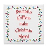 Brussels Merry Tile Coaster