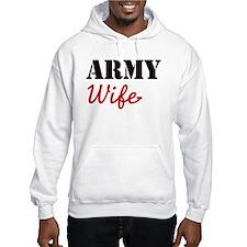 Cute Army Wife Hoodie