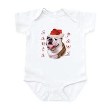 Santa Paws Bulldog Infant Creeper