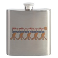Netherlands Field Hockey Flask