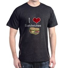 i love sandwiches T-Shirt