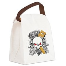 Handyman Skull Canvas Lunch Bag