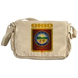 Ohio State Seal (B) Messenger Bag