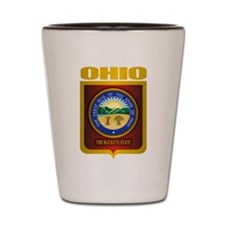Ohio State Seal (B) Shot Glass