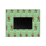 No Evil Sock Monkeys Picture Frame