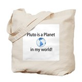 Pluto is a Planet Tote Bag