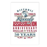 Kennedy Assassination Anniversary 2013 Postcards (