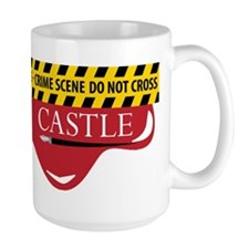 Castle Crime Scene Ceramic Mugs