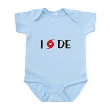 I LOVE DE Infant Bodysuit