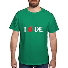 I LOVE DE T-Shirt