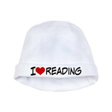 I Heart Reading baby hat