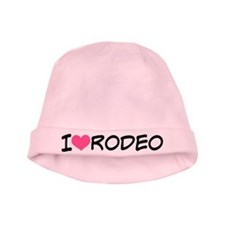 I Heart Rodeo baby hat