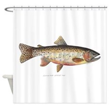 Colorado River Cutthroat Trout Shower Curtain