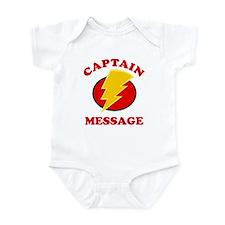 Personalized Super Hero Infant Bodysuit
