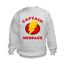 Personalized Super Hero Sweatshirt