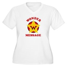 Personalized Female Superhero T-Shirt
