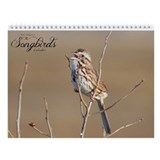 The Songbirds Wall Calendar by Noah's Birds.