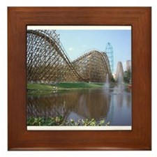 Roller Coaster Framed Tile