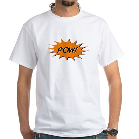 Pow! White T-Shirt