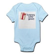 New Year Vintage Infant Creeper