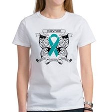 Survivor Ovarian Cancer Tee