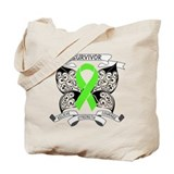 Survivor Strength Lymphoma Tote Bag