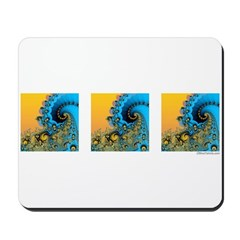3 Waves: Mousepad