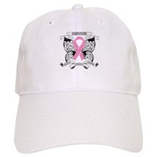 Survivor Breast Cancer Baseball Cap