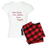 Dear Santa Custom Pajamas