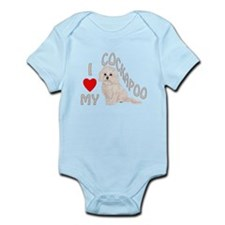 I Love My Cockapoo Infant Bodysuit