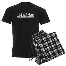 Mulder, Vintage Pajamas