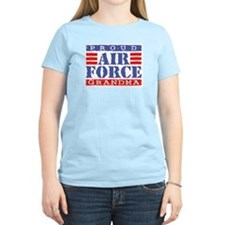 Proud Air Force Grandma Women's Pink T-Shirt