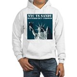 Hurricane Sandy Vs New York City Hoodie