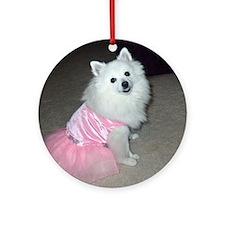 Lassie Finalist Boo Ornament (Round)