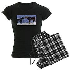 Snow Horse Friends Pajamas