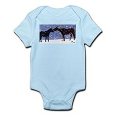 Snow Horse Friends Onesie