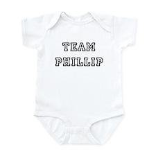 TEAM PHILLIP Infant Creeper