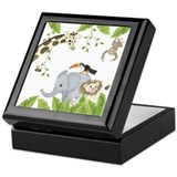 Jungle Animal Keepsake Box