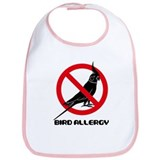 The Bird flied off from Nix Sign Bib