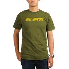Shat Happens Dark Shirt T-Shirt