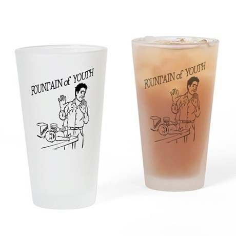 """""""Fountain of Youth"""" Drinking Glass"""