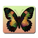 Luminous Butterfly Mousepad