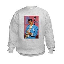 Satchmo on Bourbon Street Sweatshirt