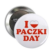 "I Heart Paczki Day 2.25"" Button (10 pack)"