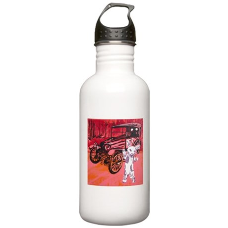 Classic car mascot Stainless Water Bottle 1.0L