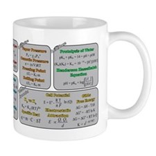 Chemistry Study Tables Small Mug